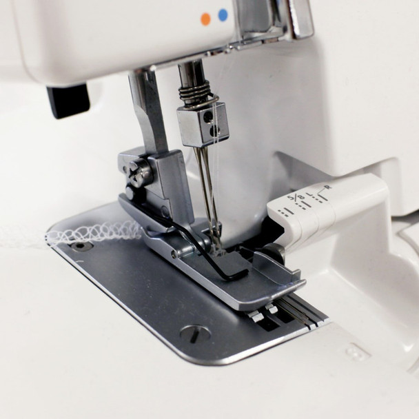 Janome 634D Foot and Plate