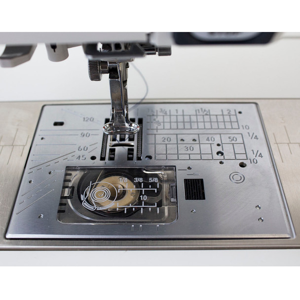 Janome Horizon Memory Craft 12000 Embroidery and Sewing Machine - Plate Area