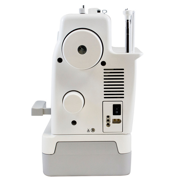 Janome 1600P-QC High Speed Sewing and Quilting Machine Side View