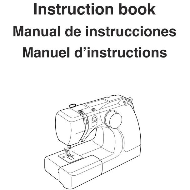 Janome 3128 Sewing Machine Included Instruction Manual