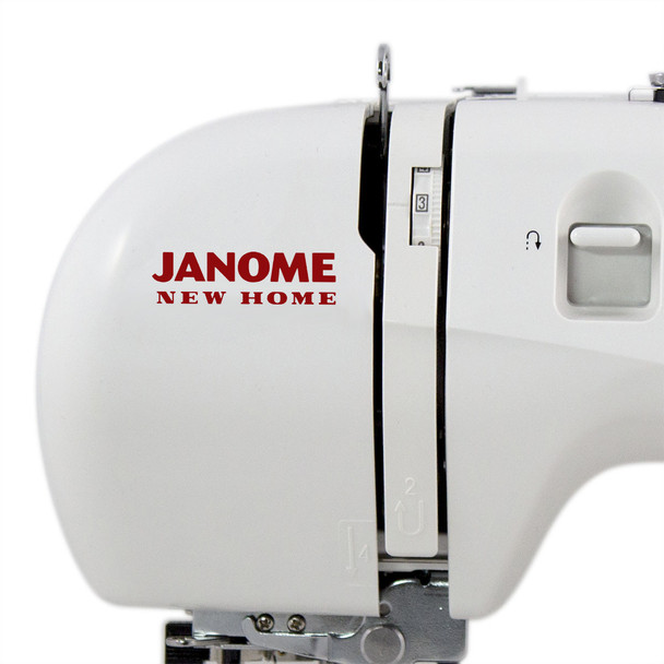 Janome Jem Gold Plus 661G Trim & Stitch - Close Up