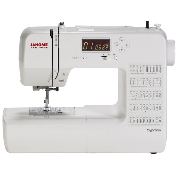 Janome DC1050 Computerized Sewing Machine (Refurbished) - Front view