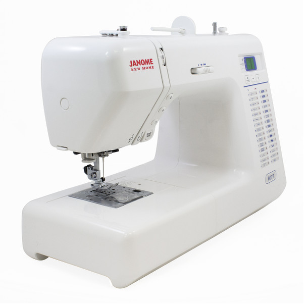 Janome 8077 Computerized Sewing Machine - Quarter View