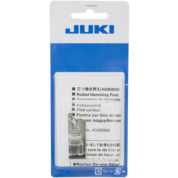 Juki 3mm Rolled Hem Foot Fits HZL-DX, HZL-F and HZL-G Series Machines
