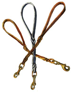 Travel Lead 12 inch in High Quality Leather