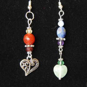 (SOLPC8) Chakra Dangle Earrings