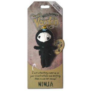 The Ninja Watchover Voodoo Doll
