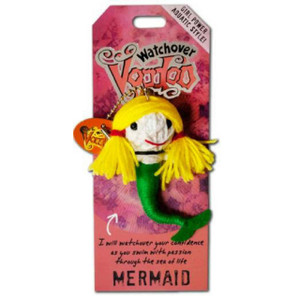 Mermaid Watchover Voodoo Doll