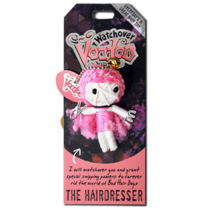 The Hairdresser Watchover Voodoo Doll