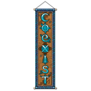 CoExist Affirmation Banner