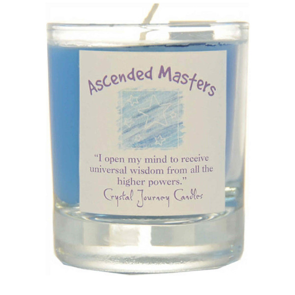 Ascended Masters Glass Filled Votive Candle