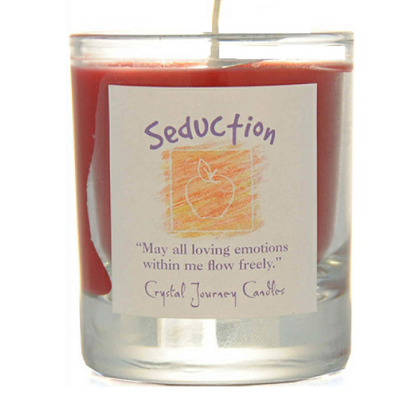 Seduction Glass Filled Votive Candle