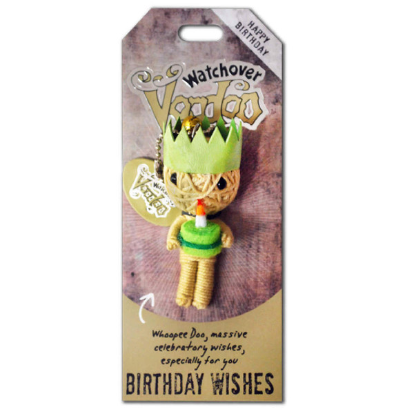 Birthday Wishes Watchover Voodoo Doll