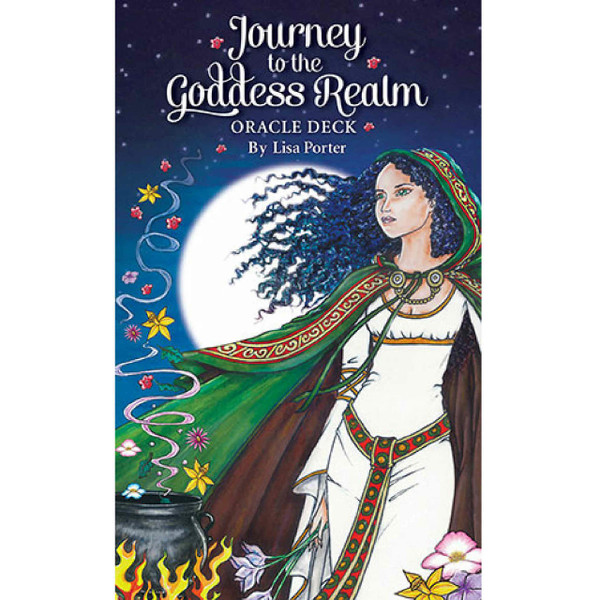 Journey to the Goddess Realm Oracle Deck