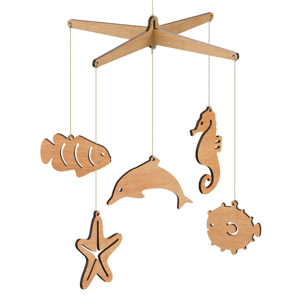 Baby mobiles animal mobiles page 1 hanging mobile for Sea animal baby mobile