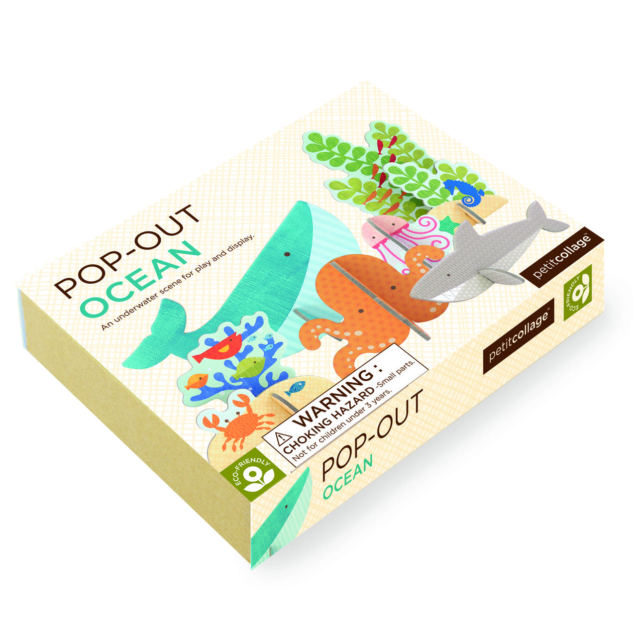 Petit Collage Ocean Pop-out Packaging