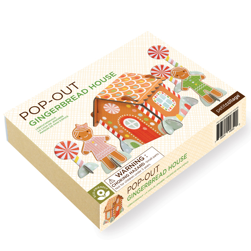 Petit Collage Pop-and Play Winter Wonderland Packaging