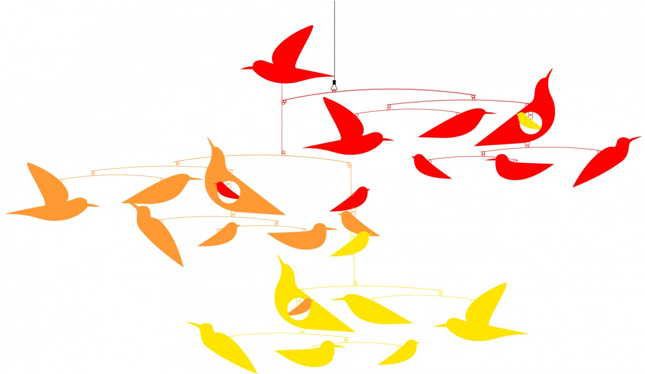 Djeco Birds Mobile