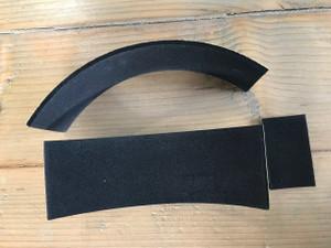 Gaiter Alternative: Customizable Heel Protection