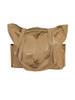 Jacquard Silk Tote Bag Yoga or Resort Wear - Sage Brown