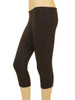 Women's Plus Size Capri Leggings  - Bamboo Rayon