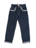 Children's Denim Jeans Trouser - Organic Cotton