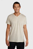 Men's Triblend Basic V-neck Tee - Recycled Polyester & Organic Cotton