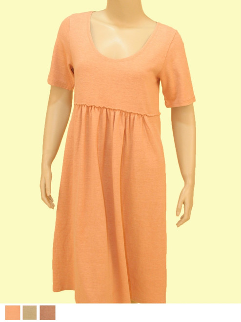 Baby Doll Dress - 55% Hemp & 45% Organic Cotton