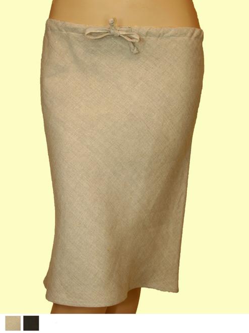 Short Bias Skirt - 100% Hemp