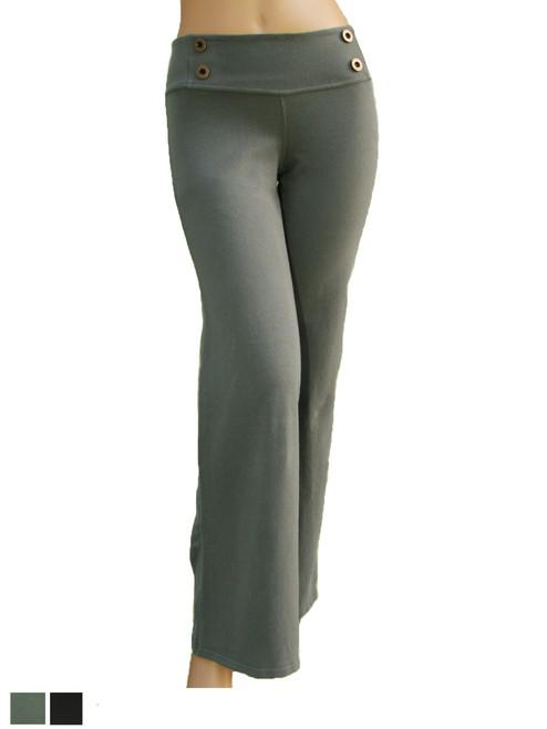 Button  Pant - Organic Cotton