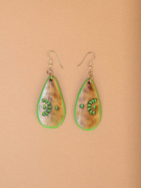 Rain Forrest Teardrop Earrings