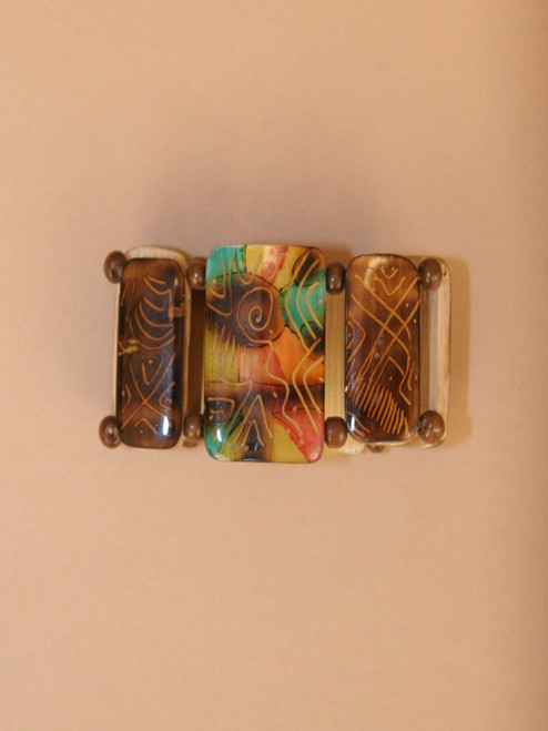Glossy Bamboo Bracelet