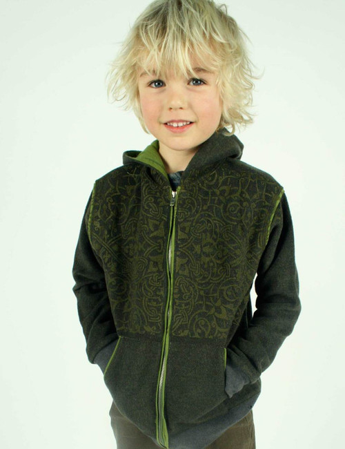 Green Venet Hoodie - Recycled Fleece