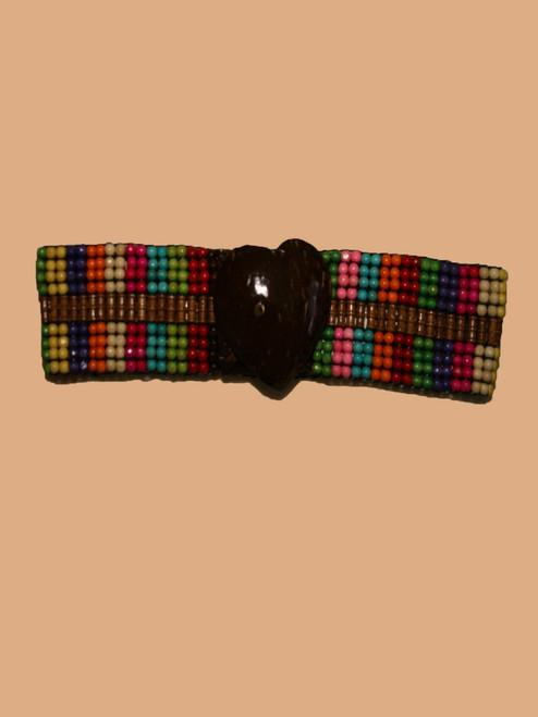 Heart Coconut & Rainbow Belt