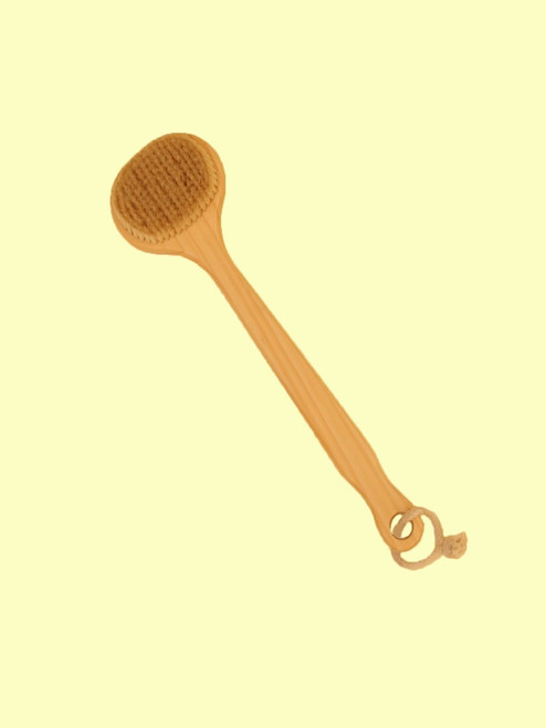 "European Cedar 13"" Bath Brush - 100% Boar Bristle"