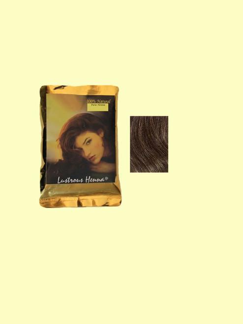 Lustrous Henna Dark  Brown Hair Color - 3.52 oz