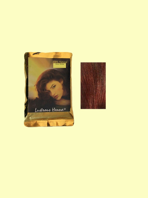 Lustrous Henna Mahogany  Hair Color - 3.52 oz