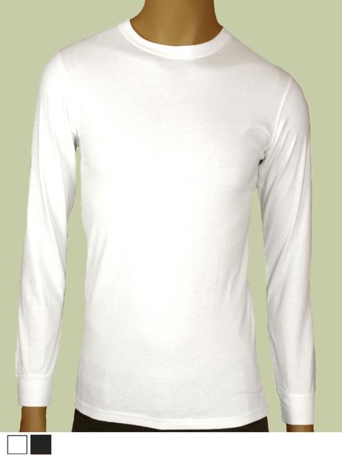 Men's Long Sleeve Tee - Certified Organic Cotton