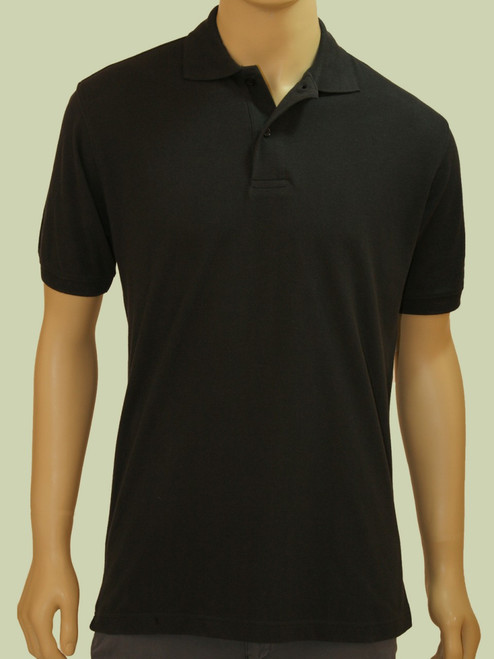 Men's Pique Polo Shirt - Certified Organic Cotton