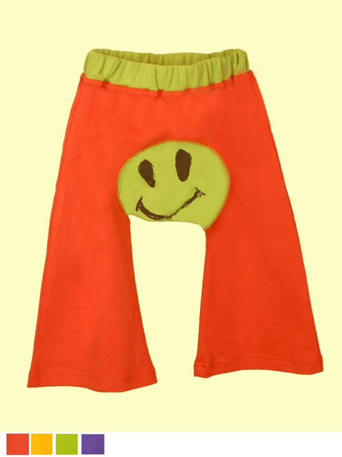 Baby Ha-Ha Smile Pants - Organic Cotton