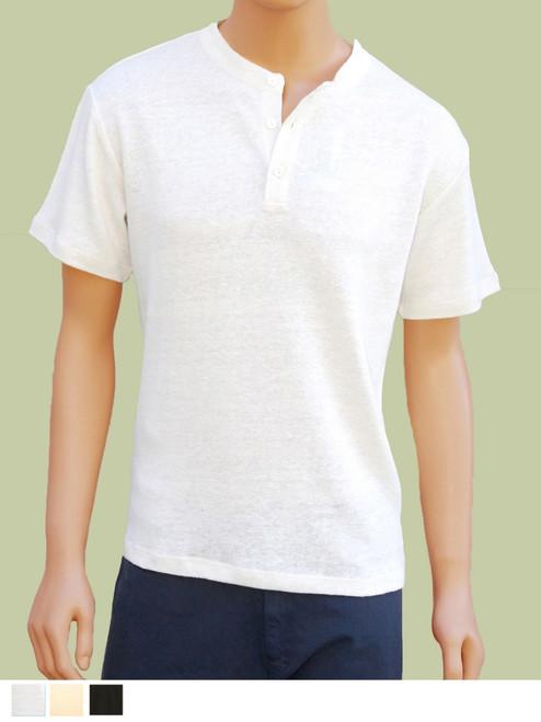 Sierra Short Sleeve Shirt - Hemp/Flax