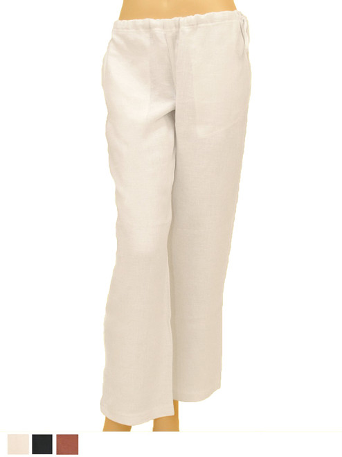 100% Hemp Drawstring Pants Resort Wear