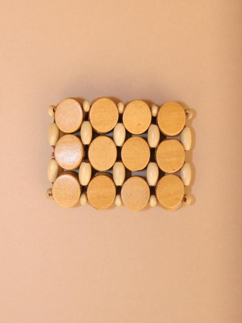 Wood Circle Bracelet
