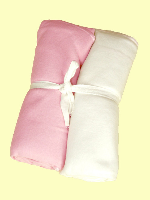 Pink Swaddle Blanket - Certified Organic Cotton