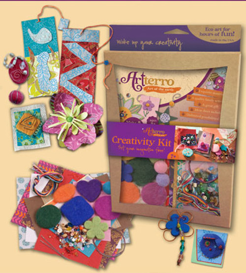 Creativity Kit  - Recycled Materials