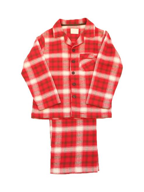 Check Pajamas  - Organic Cotton