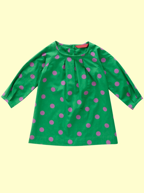 Spotty Tunic Dress . Organic Cotton - Fair Trade