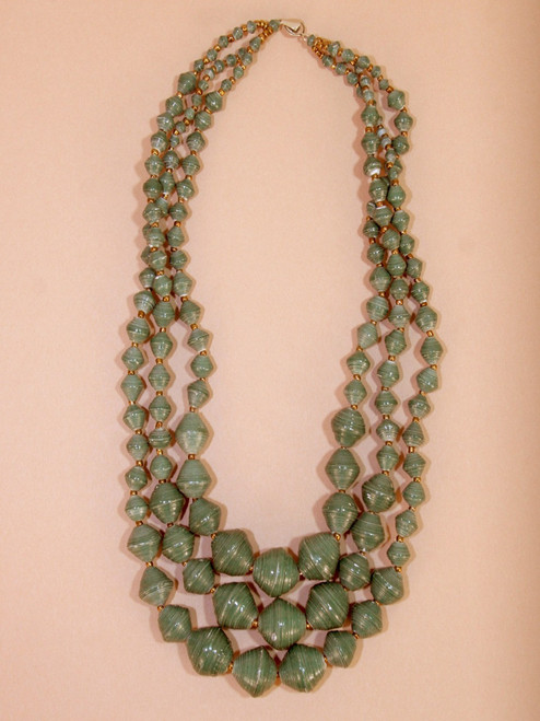 Petunia Necklace - Recycled Materials