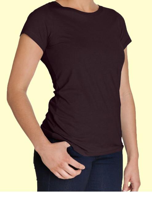 Women's Scoop Neck Shirt - Organic Cotton & Modal
