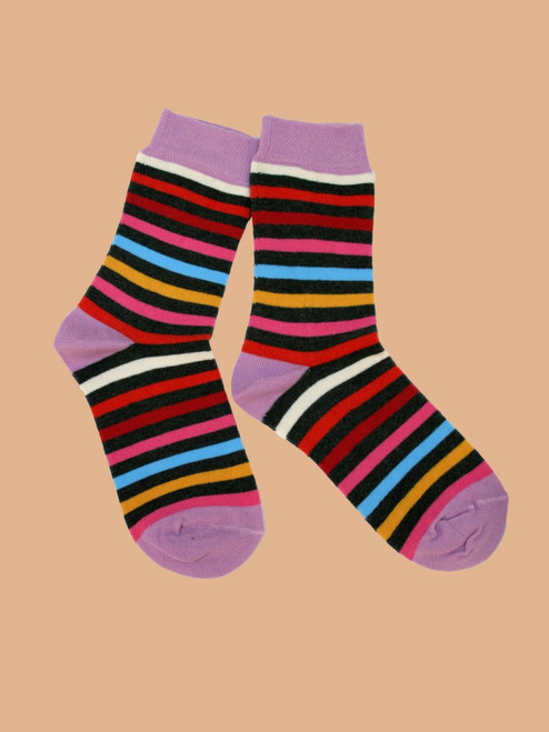 Transamerica All Stripes Sock - Organic Cotton